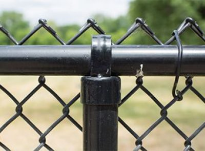Coated Steel Fence